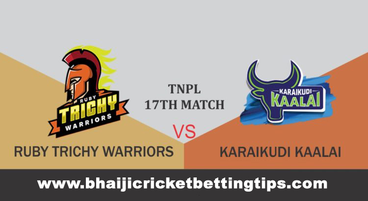 Ruby Trichy Warriors vs Karaikudi Kaalai